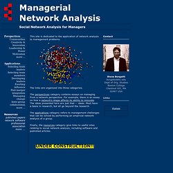 Managerial Network Analysis