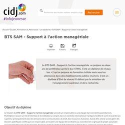 BTS SAM - Support à l'action managériale : programme, options, écoles, alternance, débouchés