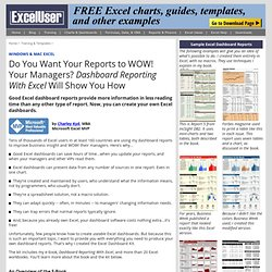 Do You Make These Four Mistakes With Your Excel Management Reports?