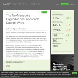 The No-Managers Organizational Approach Doesn't Work