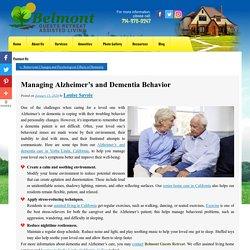 Managing Alzheimer's and Dementia Behavior