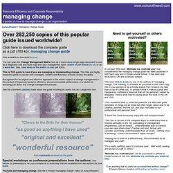 Managing Change Guide