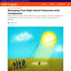 Managing Your High School Classroom with Compassion