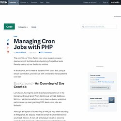 Managing Cron Jobs with PHP