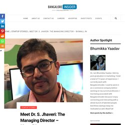 Meet Dr. S. Jhaveri: The Managing Director – Biomall.in
