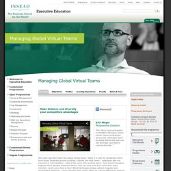 Executive Education INSEAD