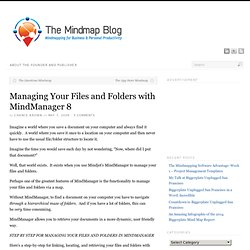 Managing Your Files and Folders with MindManager 8 | The Mindmap Blog