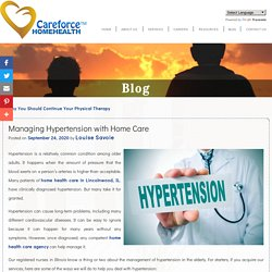 Managing Hypertension with Home Care
