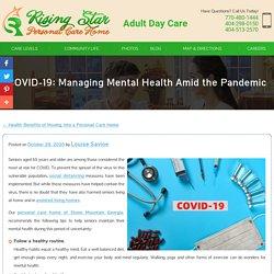 COVID-19: Managing Mental Health Amid the Pandemic