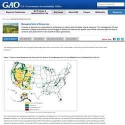 Gov. Accountability Office: Managing Natural Resources