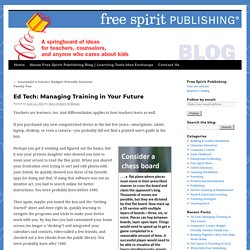 Ed Tech: Managing Training in Your Future