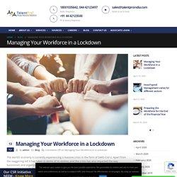 Managing Your Workforce in a Lockdown