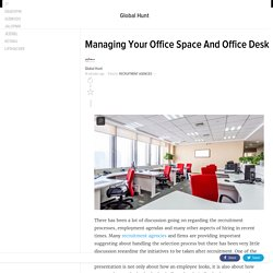 Managing Your Office Space And Office Desk