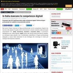 In Italia mancano le competenze digitali