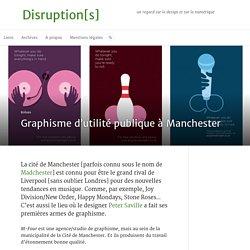 Graphisme d'utilité publique à Manchester — M-Four