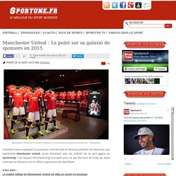 Manchester United : Le point sur sa galaxie de sponsors en 2015