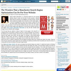 Get Search Engine Optimization in Manchester