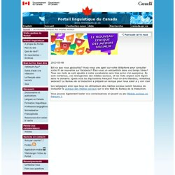 Le nouveau Lexique des médias sociaux – En manchettes – Archives