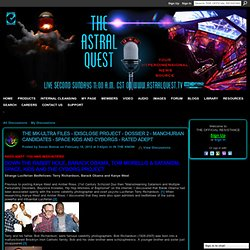 THE MK-ULTRA FILES - iDISCLOSE PROJECT - DOSSIER 2 - MANCHURIAN CANDIDATES - SPACE KIDS AND CYBORGS - RATED ADEPT