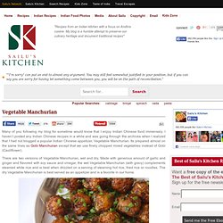 Vegetable Manchurian-Dry Vegetable Manchurian Recipe-Indian Chinese Food » All Recipes Indian Chinese Recipes Indian Snacks and Starter Recipes Indian Vegan Recipes Indian Vegetarian Recipes Recipes Vegetable Dishes Indian Food Recipes