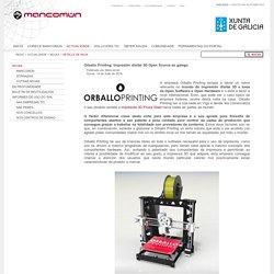 mancomun: Orballo Printing: Impresión dixital 3D Open Source en galego