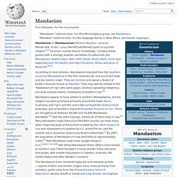 Mandaeism