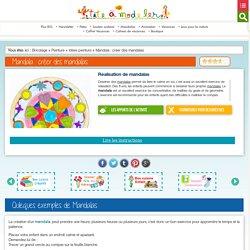 Mandala : créer des mandalas