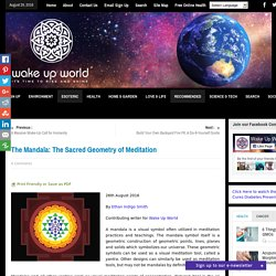 The Mandala: The Sacred Geometry of Meditation