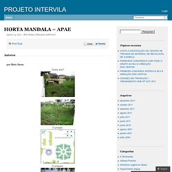 HORTA MANDALA – APAE – PROJETO INTERVILA