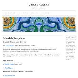 Mandala Templates » USHA GALLERY