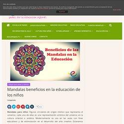 Mandalas para niños y sus beneficios en la educación