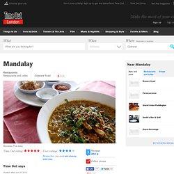 Mandalay - Edgware Road W2 - Restaurant Review
