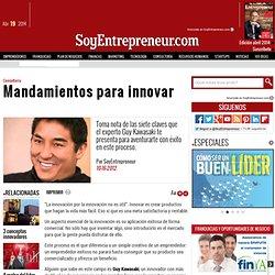 Mandamientos para innovar
