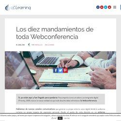 Los diez mandamientos de toda Webconferencia