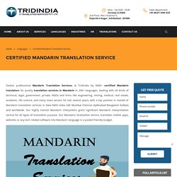 Why Mandarin Translation Services is a Key to Success for You?