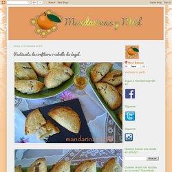 mandarinas y miel : Pastissets de confitura o cabello de ángel.