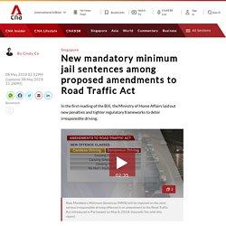 New mandatory minimum jail sentences among proposed amendments to Road Traffic Act