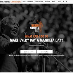 Make an Imprint | Home | Mandela Day 2009