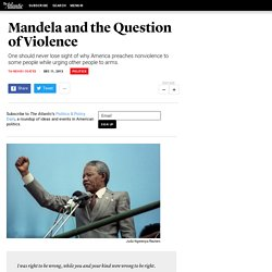 Mandela and the Question of Violence