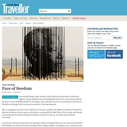 Nelson Mandela Sculpture: Howick, South Africa