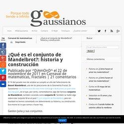 ¿Qué es el conjunto de Mandelbrot?: historia y construcción