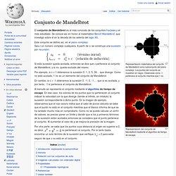 Conjunto de Mandelbrot