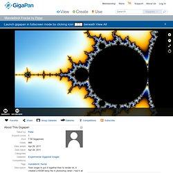 Fullscreen Gigapan Viewer: Mandelbrot Fractal