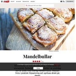 Mandelbullar - recept
