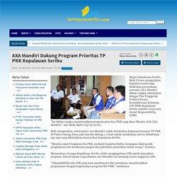 AXA Mandiri Dukung Program Prioritas TP PKK Kepulauan Seribu