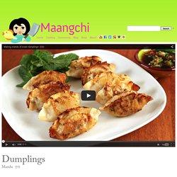 Mandu (Dumplings) recipe
