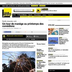 FranceInfo - Un tour de manège au printemps des comédiens