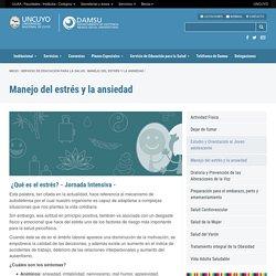 Manejo del estrés y la ansiedad - DAMSU