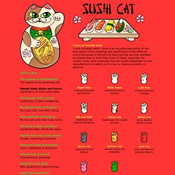 Maneki Neko - The Meaning behind colors and types of Maneki Neko Fortune Cats