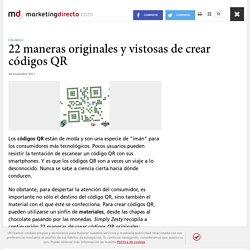22 maneras originales y vistosas de crear códigos QR